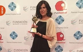 Isabel Buil directora de Fundación Affinity premiada con el Premio de Honor en los Premios Empresa Social 2018