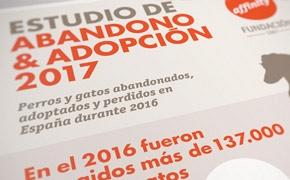 Infografía Estudio de Abandono y Adopción 2017